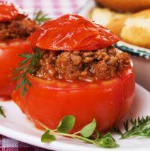 Pomodori ripieni di carne